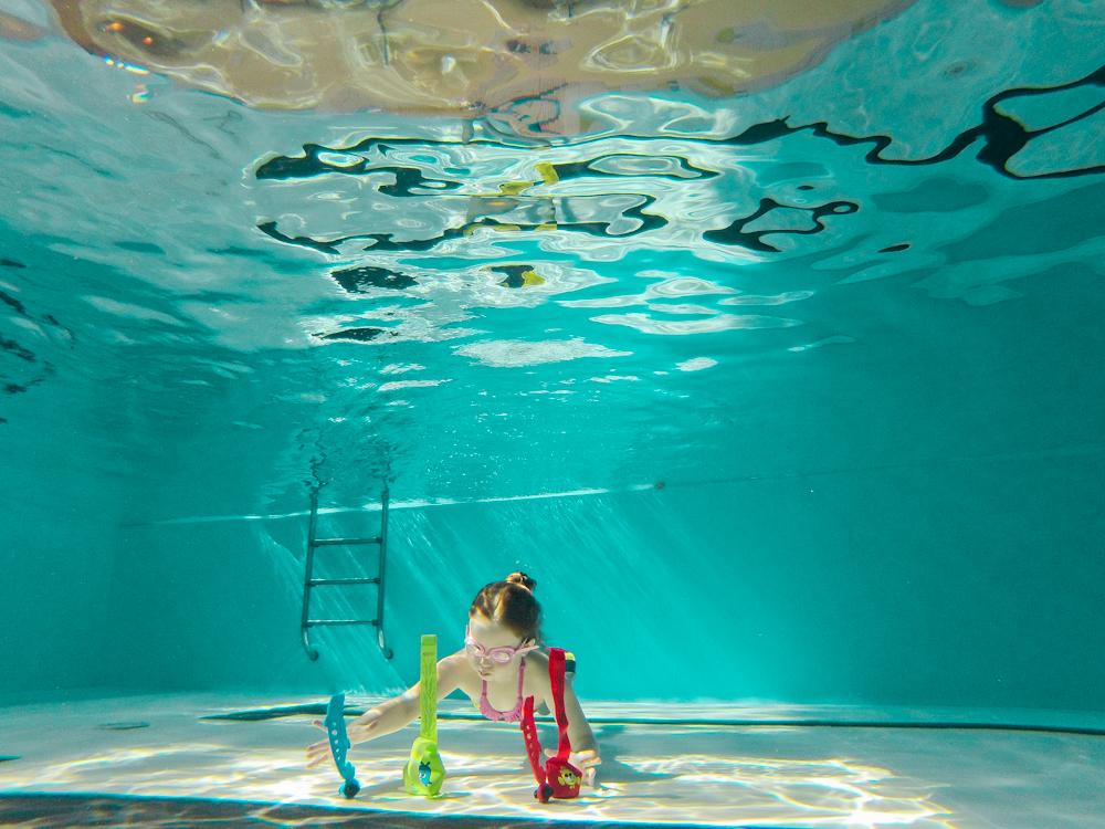 nauka pływania i nukrkowania